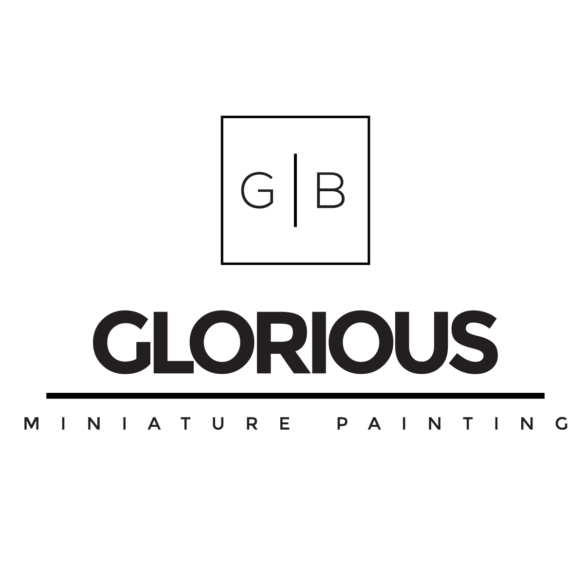 Glorious Miniatures logo